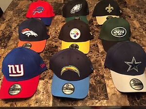 BRAND NEW, NEVER WORN, NEW ERA NFL HATS/CAPS