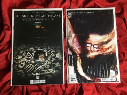 THE NICE HOUSE ON THE LAKE #1~1st PRINT COVER A+B SET~JAMES TYNION SOLD OUT~