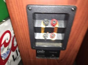PSB 4T 9/10 home stereo bi wired speakers great sound Kingston Kingston Area image 3