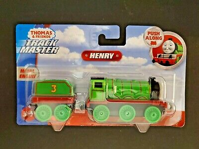 Thomas & Friends Track Master HENRY Push Along BRAND NEW IN PACKAGE