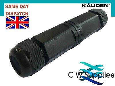 Genuine CAT6 5e RJ45 Data Cable Joint Repair External Enclosure Kit Waterproof ()