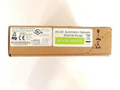 New Sealed Prosoft An-x2-ab-dhrio Allen Bradley Ethernetip To Dh Gateway