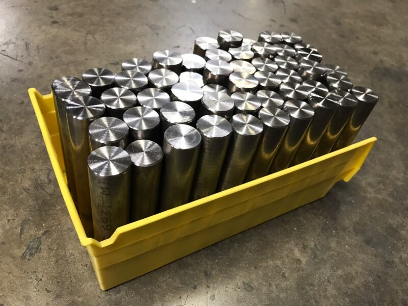 "Titanium Round Bar 6al4v 1.125"" x 6"""