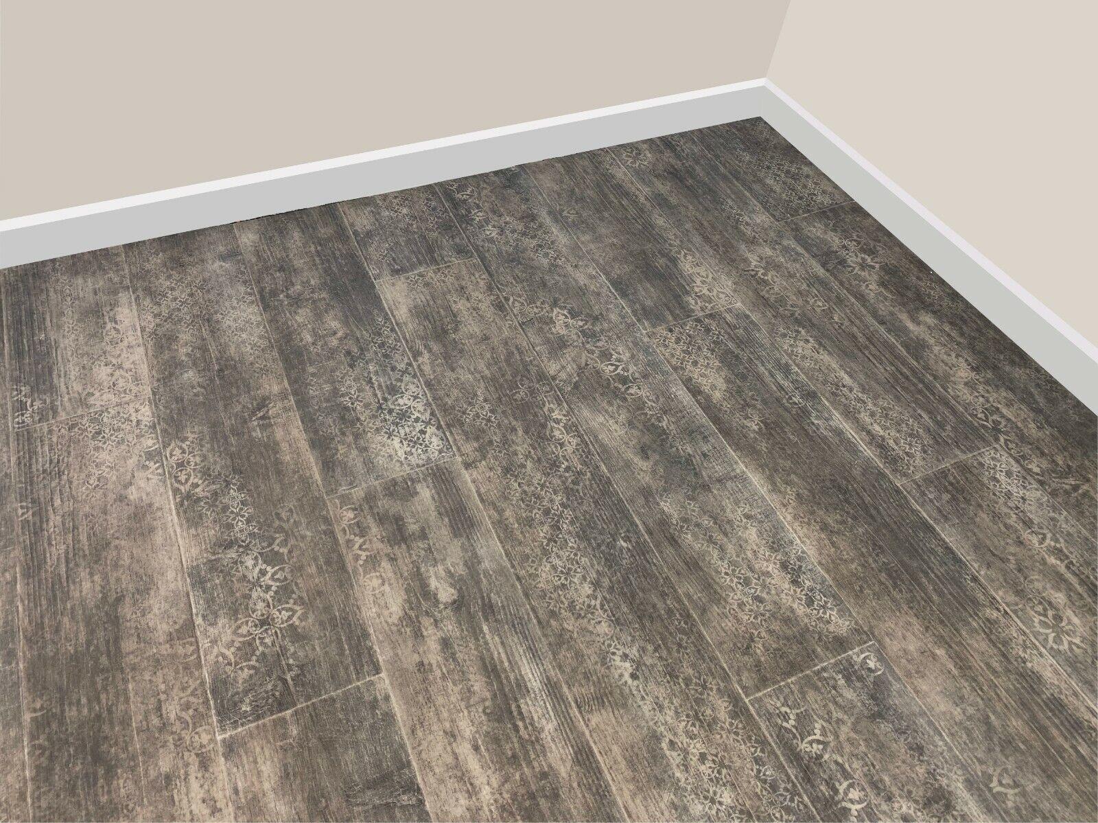 Dark Forest Plank Vinyl Flooring, Roll Lino 9m or 9m Kitchen ...