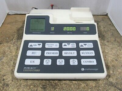 Chattanooga Intelect Legend Combo 2c Therapeutic Ultrasound Unit Partsrepair