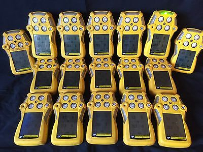 Bw Gas Alert Quattro Multi Gas Monitor Detector Meter O2 Co H2s Lel New Oxy