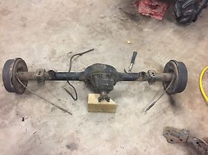 "Complete Ford 9"" rear axle"