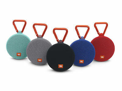 JBL CLIP 2 IPX7 Waterproof Portable Bluetooth Wireless Speaker