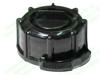 Genuine Midwest Gas Can Company Black Screw Cap Collar And Stopper Incl. Gasket