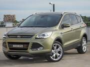 2013 Ford Kuga Titanium Gold Turbo Diesel Gold Books AWD Auto North Strathfield Canada Bay Area Preview