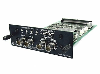 Yamaha MY8-SDI-ED SDI EMBED/DE-EMBED CARD DM1000 DM2000 02R96 CL5 CL3 01V96  for sale  Williston