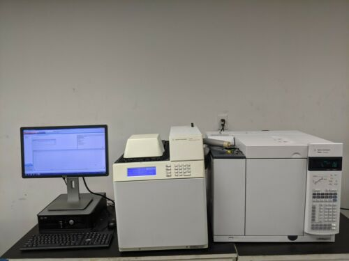 Agilent  7890A with FID, S/SL Inlet, G1888 Headspace Autosampler, PC/SW, Tested