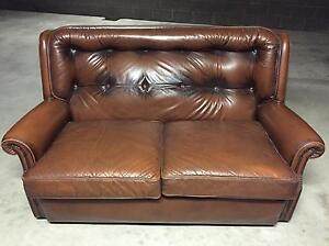 Moran Leather Sofa-2 Seater Concord Canada Bay Area Preview