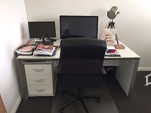 Matching 4 piece office furniture suite Waitara Hornsby Area Preview