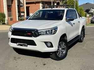 MY18 Toyota Hilux SR5 Upgrades to TRD Diesel