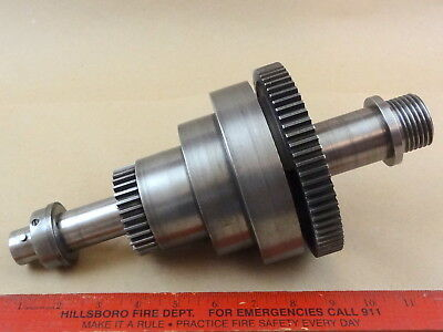 Rare Nice Original South Bend 9 420-z Metal Lathe Headstock Spindle Assembly