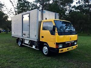 1987 Mitsubishi Canter Fridge Truck Coffs Harbour Coffs Harbour City Preview
