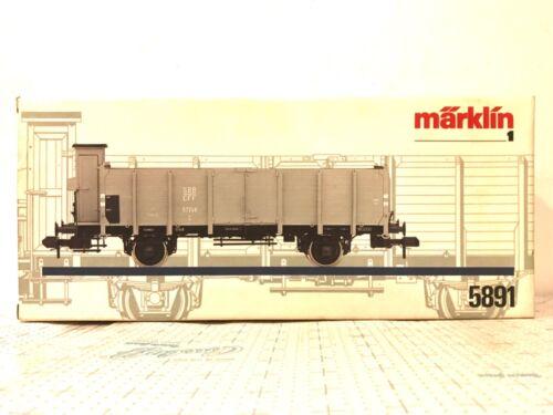 Märklin Marklin 1 Gauge 5891 Freight Car - SBB Wagon Original Box