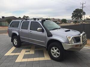 2007 Holden Rodeo LT Ute 4X4 3.0L Diesel Dual Cab Canopy Extras Murray Bridge Murray Bridge Area Preview