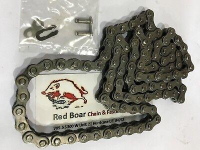 35-1r X 96 Links 3 Feet Long Roller Chain 2 Master Links