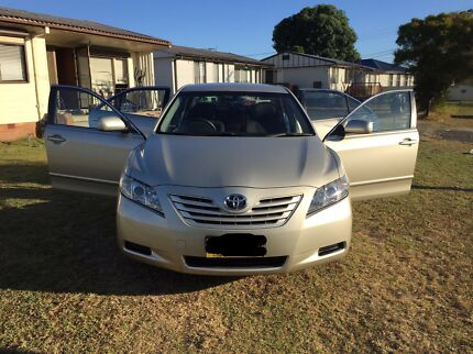 TOYOTA CAMRY2008 10MONTHS REGO LADY OWNER LOGBOOK EXCELLENT CONDITION