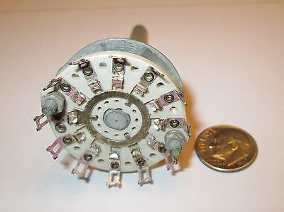 Crl Ceramic Rotary Switch 1 Pole - 12 Positions  Shorting  1 Pcs. Nos