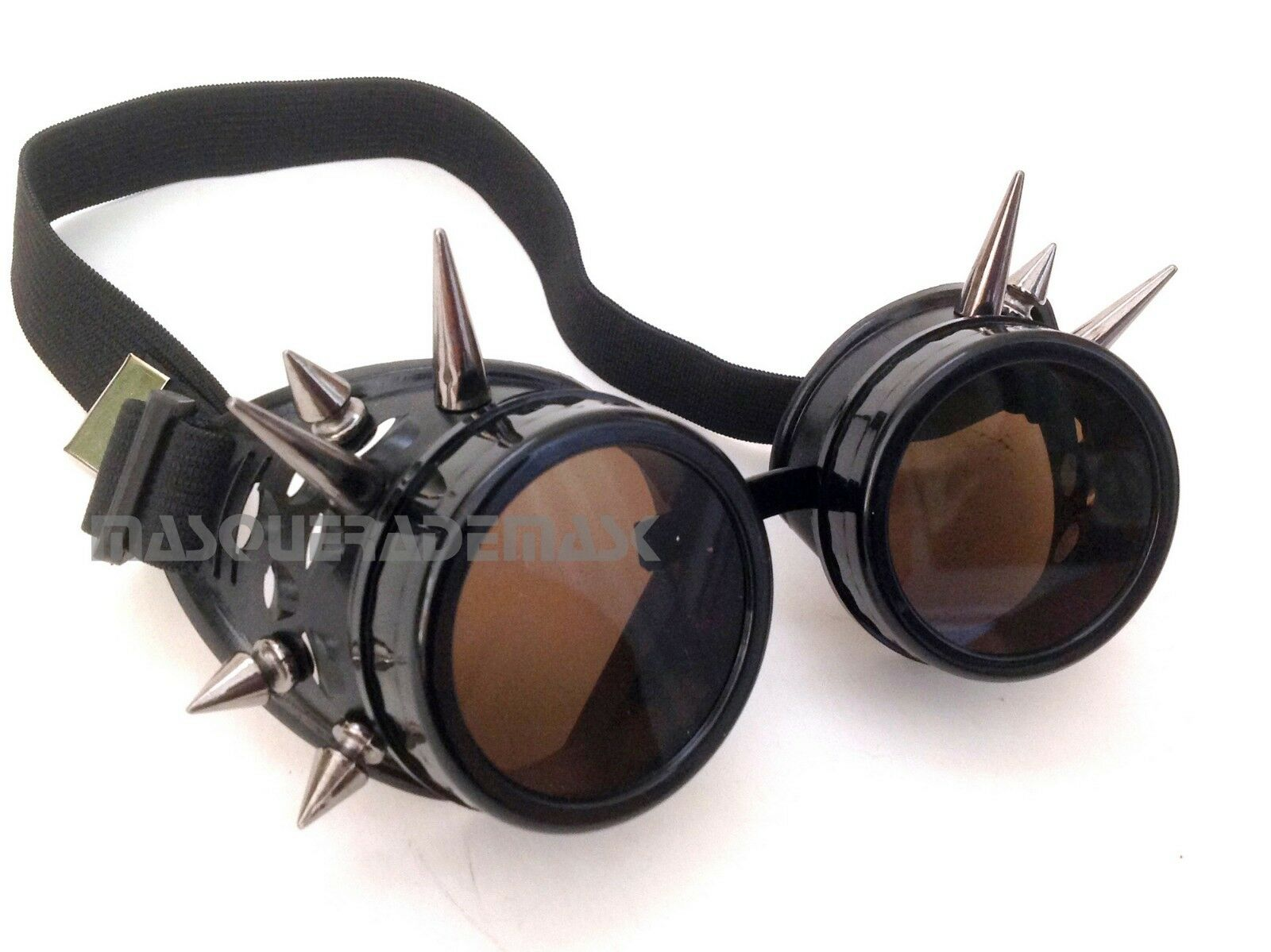 Victorian Spikes Steampunk goggles aviator Cosplay Cyber Halloween ...