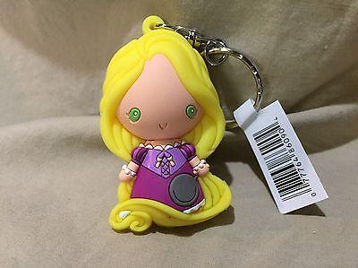 Disney Princess Repunzel Keychain 3D Figural Keyring Key Ring Series 7