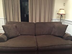 Fraser Brothers Brown Sofa