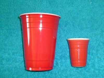 Red Cup Shot Glass ( SHOT GLASS MINI RED SOLO CUP 2.5
