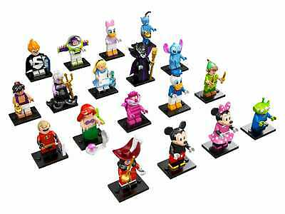 LEGO (71012) Disney Collectible Minifigures Series 1 New, Sealed Retired CMF
