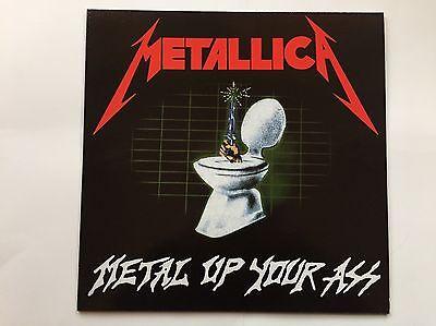 METALLICA - METAL UP YOUR ASS - RARE BLUE VINYL LP, THRASH METAL