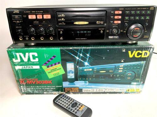JVC XL-MV303BK 3 Disc Karaoke Video VCD CD Player Changer NTSC & PAL Compatable