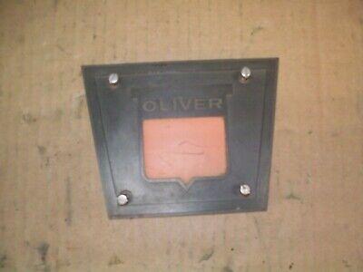 Oliver 15501600165017501800185019001950 Farm Tractor Grill Emblem Nice