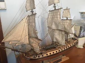 Wooden Sailing ship model Windale Lake Macquarie Area Preview