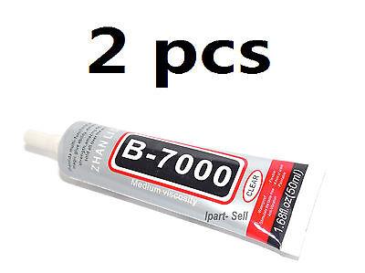 2Pcs New 50Ml Multi Purpose Glue Adhesive B 7000 For Mobile Phone Usa Fast Ship