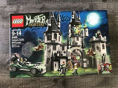 Castle Boxed (LEGO, Monster Fighters NEW SEALED BOX, Castle Vampyre 9468 )