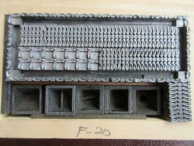 Letterpress Lead Type 6 Pt. Teague Border No. 616 B77