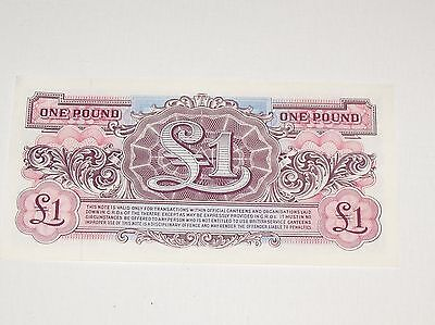 SET OF 4 £1 ONE POUND BRITISH ARMED FORCES SPECIAL VOUCHER CONSECUTIVE NUMBERS