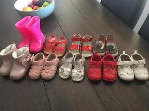 Baby girls size 4 shoes Wallsend Newcastle Area Preview