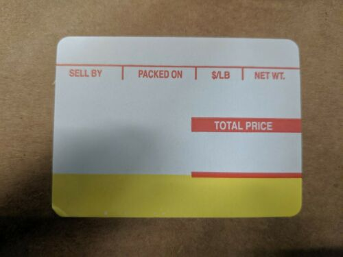 ISHIDA SCALE LABEL 800/ROLL 12 RLS/CS 64MM X 47MM  #1819 BEST PRICE