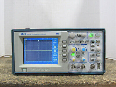 Bk Precision 2532 Two Channel 40mhz Digital Storage Oscilloscope Tested Works