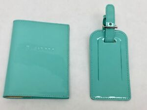 Tiffany & Co passport cover and luggage tag
