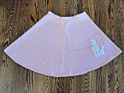 California Costume Pink Fleece Poodle Skirt - child Medium](Child Poodle Skirt)