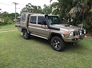 2013 Dual Cab 79 Series Landcruiser 65000kms Dysart Isaac Area Preview