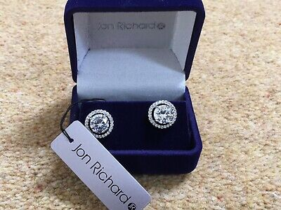 diamonte earrings by Jon Richard. Brand new and boxed. Stunning set.