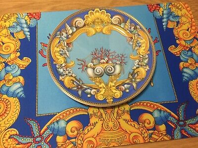 "VERSACE TRESORS DE LA MER PLATE 9"" LIMITED EDITION SIZE New LOVER GIFT SALE"