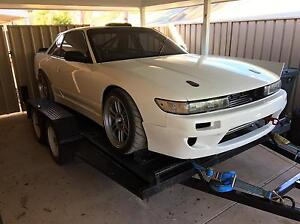S13 silvia grip/drift race car Roxby Downs Far North Preview