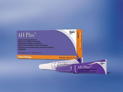 3 Dental Ah Plus Kit 2 Tubes 4 Ml By Dent Sply Free Shipping