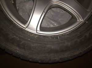 WINTER TIRES: toyo open country 275/60/17 on FAST MAGS 7mm left West Island Greater Montréal image 2